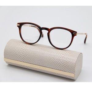 New JIMMY CHOO Eyeglasses JC247 Havana Eyewear